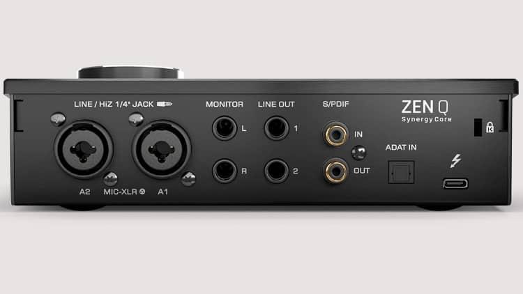 Antelope Audio Zen Q Synergy Core Back