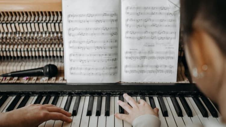 Guter Klavierunterricht Fingersätze
