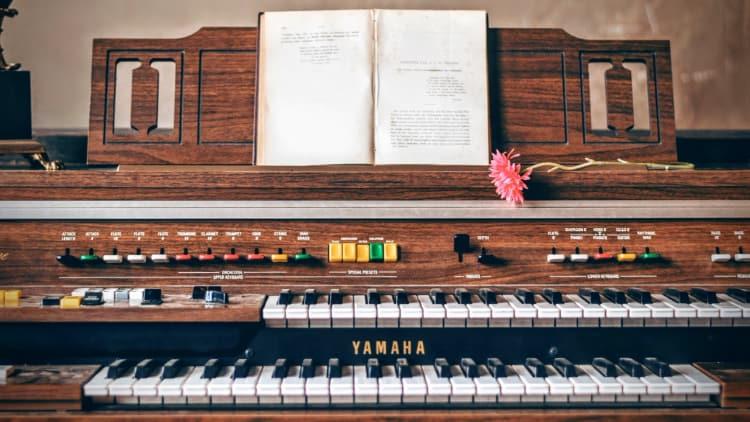 Orgel Tasteninstrumente