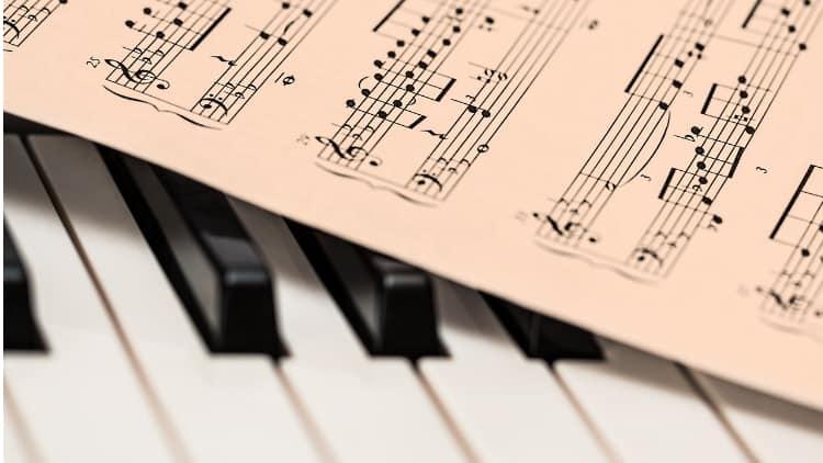 Piano Noten Tasteninstrumente