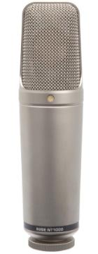 Rode NT1000 klein Mikrofon Test