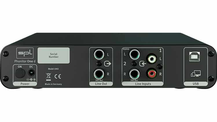 spl phonitor one d test