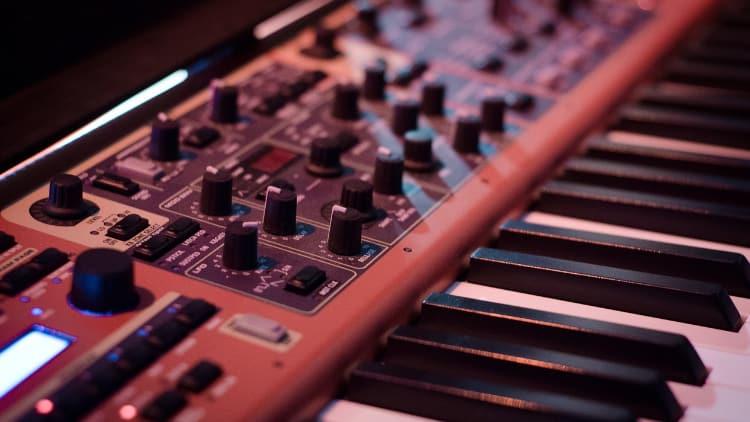 Synthesizer1 Tasteninstrumente