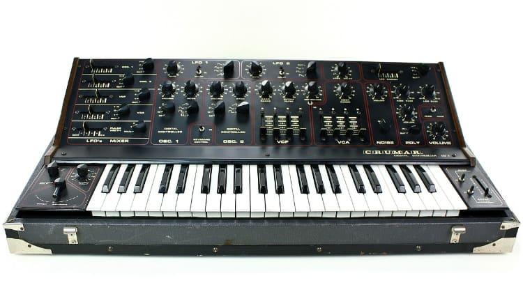 VIntage Synthesizer Tasteninstrumente