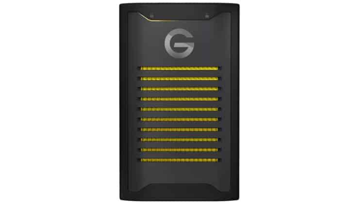 G-Technology Amorlock NVMe SSD Streaming Equipment