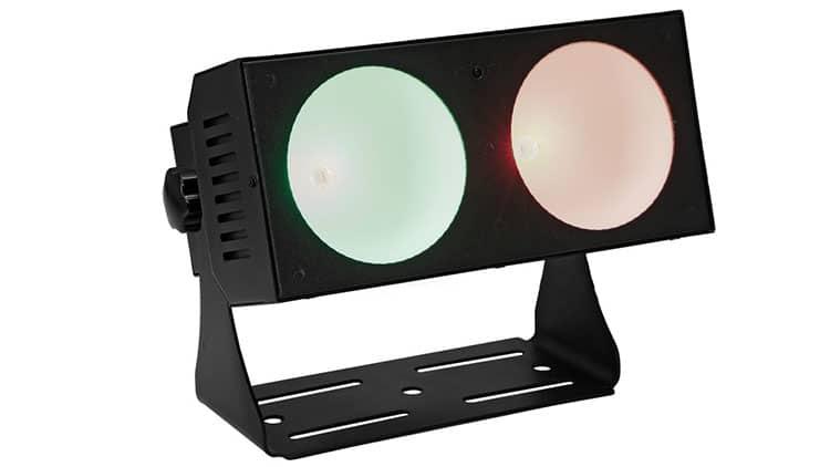 EUROLITE LED CBB-2 COB RGB Test