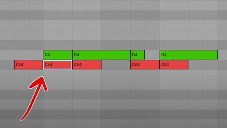 Kick Drum vor und auf 808 Sample