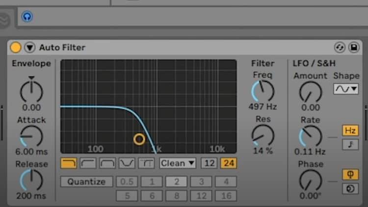 Low Pass Filter - 808 Producing