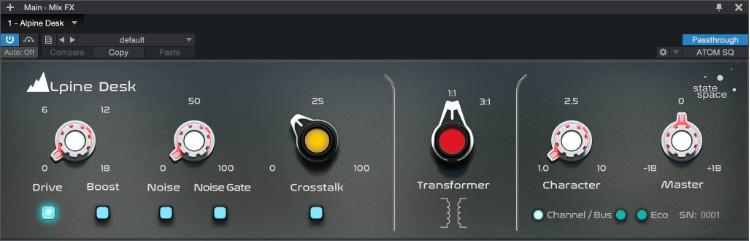 PreSonus Retro Mix Legends Alpine Desk