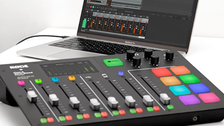rode rodecaster pro podcast recorder verlgeich