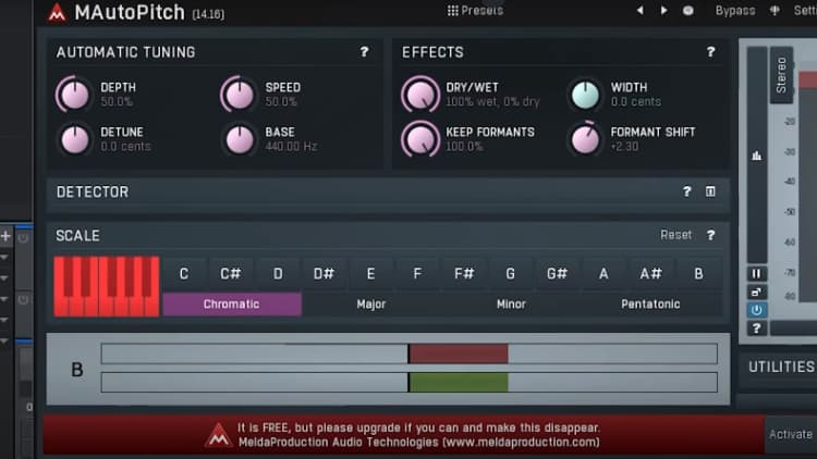 formant shifter plugin