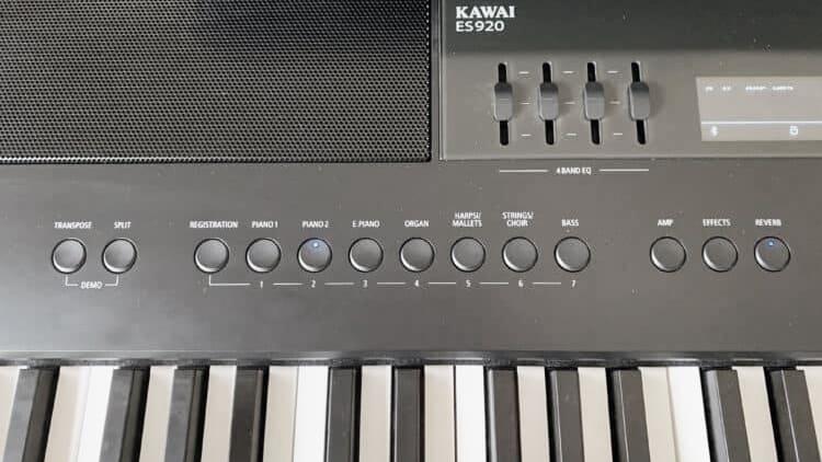 kawai es920 test