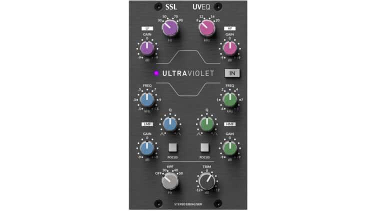 SSL 500 UltraViolet EQ Test