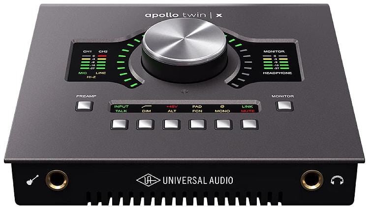 Universal Audio Apollo Twin X Duo Heritage Ed