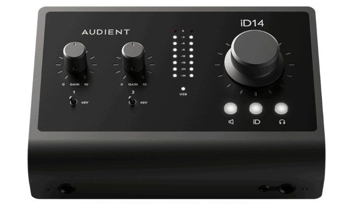 Audient iD14 MKII Test