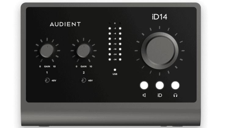 Audient iD14MKll_Test
