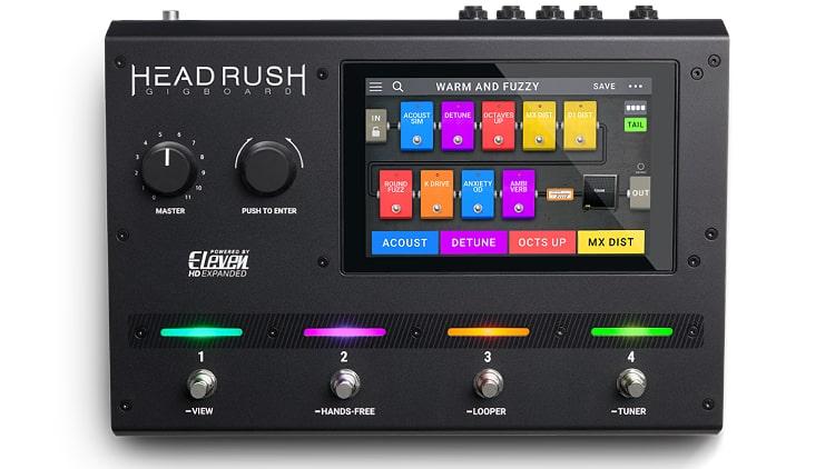 Headrush Gigboard Audio Interface Gitarre