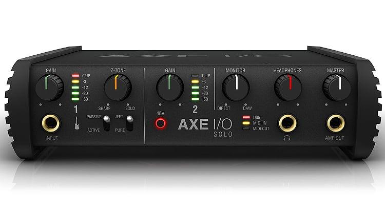 IK Multimedia Axe I/O Audio Interface Gitarre