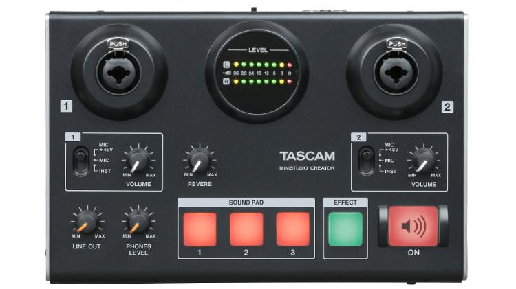 Tascam MiNiSTUDIO Creator US-42B Test