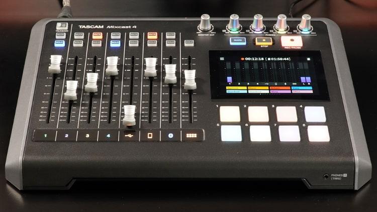 Tascam Mixcast 4 Test