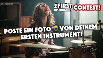 Thomann Fotocontest #myfirstinstrument