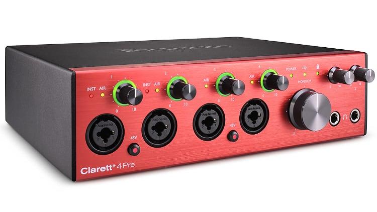 Focusrite Clarett+ 8Pre