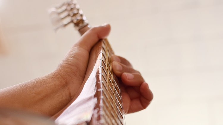Gitarren Griffe