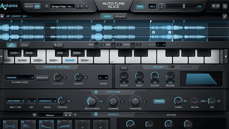 Antares Audio Technology Auto-Tune Slice